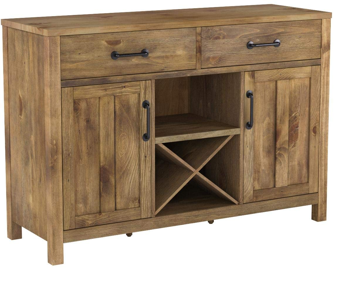 Crosley Furniture Roots Buffet Dining Room Storage - Natural by Crosley Furniture (Image #13)