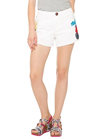 Womens Denim_blondie White Jeans Desigual Outlet Wholesale Price Authentic Cheap Online Clearance Brand New Unisex Hot Sale Zuiy5TPa