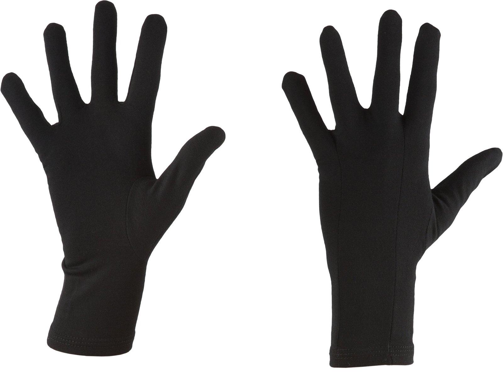 Icebreaker Merino Unisex Adult 200 Oasis Glove Liner, Black, L by Icebreaker Merino (Image #2)