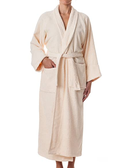 Unisex Terry Cloth Robe - 100% Egyptian Cotton Hotel Spa by  ExceptionalSheets  Amazon.co.uk  Kitchen   Home 3db5d3d11