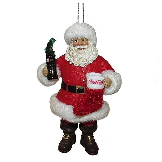 Kurt Adler Fabriche Coca-Cola - Figura de Papá Noel con Botella y ...