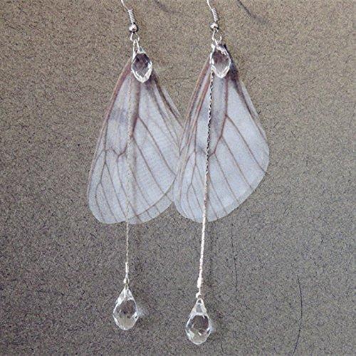 TKHNE Custom hand-tailored summer aesthetic Sen Department onion skin snake chain tassel earrings ear clip earrings jewelry jewelry earrings women