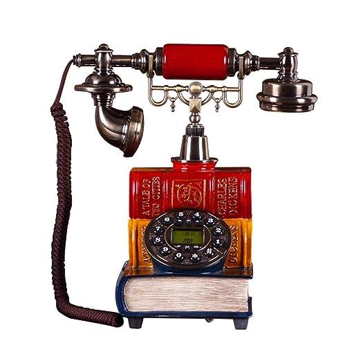 ZXCVB Teléfono de Mesa FSK/DTMF Teléfono Fijo de marcación ...