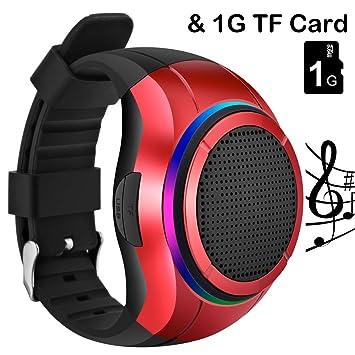 Reloj con altavoz Bluetooth, de la marca Frewico, para practicar deporte al aire libre