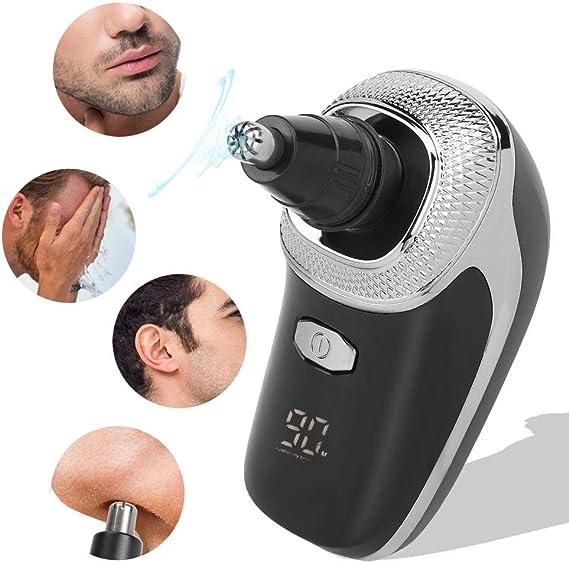 Maquinilla de afeitar eléctrica para hombres, 5 en 1 cortadora de ...