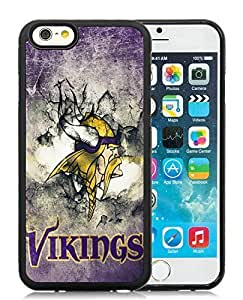 iPhone 6 Case,Custom Apple iPhone 6 Protective Skin Minnesota Vikings 32 Black Phone Case For iPhone 6 4.7 Inch Cover Case