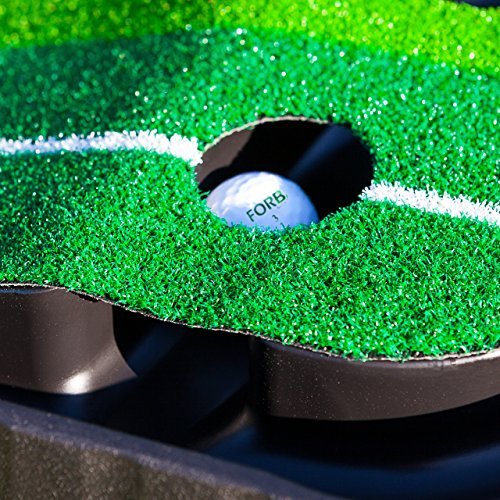 FORB Dual-Speed Golf Putting Mat (10ft x 1ft) - Perfect Your Putting On The Go With This Easy To Manoeuvre Mat [Net World Sport] by FORB (Image #7)