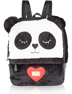 Luv Betsey Womens Andy Backpack Black/White One Size