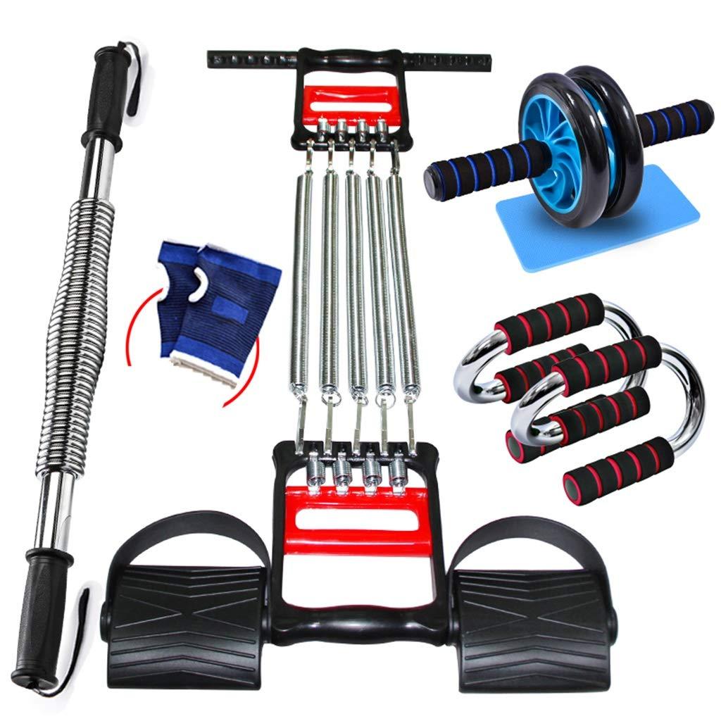 Zhiniu Indoor Sportartikel, Fitnessgeräte Arm Bar Multifunktions Puller Bauchmuskel Rad Anzug Haushalts Arm Krafttraining