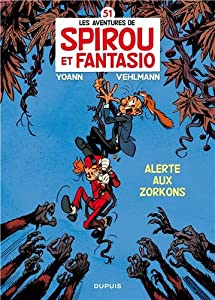 """Afficher """"Les Aventures de Spirou et Fantasio n° 51 Alerte aux zorkons"""""""