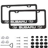 2Pcs Newest Matte Aluminum Alloy Subaru Logo