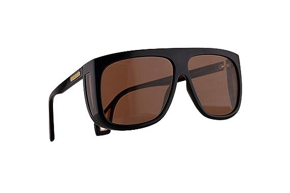 Gucci GG0467S Gafas De Sol Negras Con Lentes Rojos 62mm 002 ...