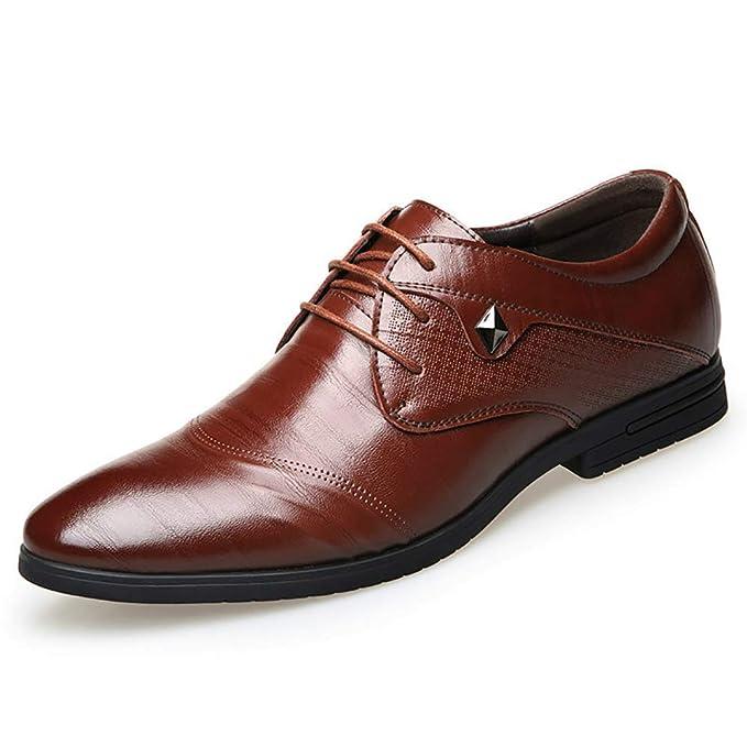 FHTD Zapatos De Cuero Para Hombres Mocasines De Primavera Mocasines Zapatos De Conducción Zapatos: Amazon.es: Ropa y accesorios