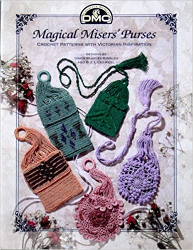 Vintage & Retro Handbags, Purses, Wallets, Bags Magical Misers Purses - Crochet Patterns with Victorian Inspiration  AT vintagedancer.com