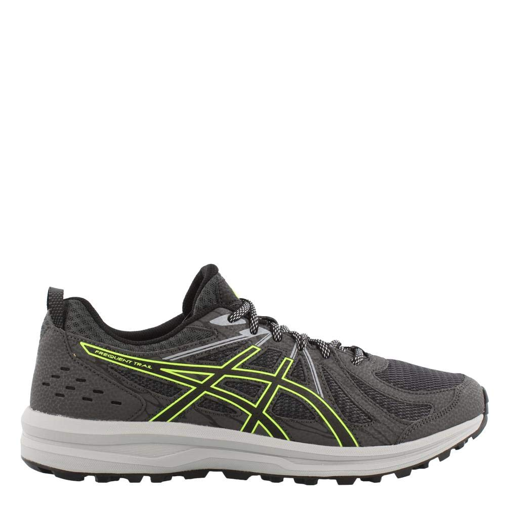 Dark Grey Black 8 US ASICS Men's Frequent Trail Running shoes