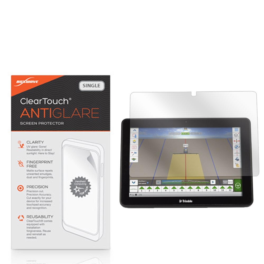 Trimble TMX-2050 Screen Protector, BoxWave [ClearTouch Anti-Glare] Anti-Fingerprint, Scratch Proof Matte Film Shield for Trimble TMX-2050 by BoxWave