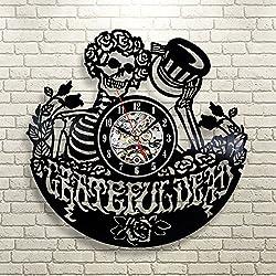 Grateful Dead Art Vinyl Record Clock Wall Decor Home Design