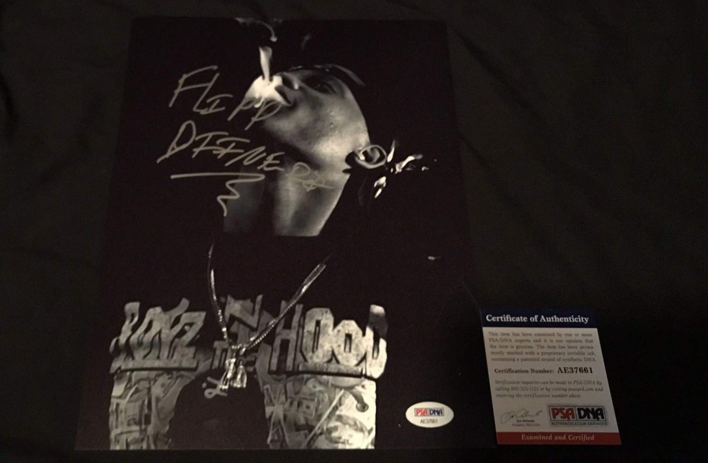 Flipp Dinero Autographed Signed Memorabilia 8x10 Photo