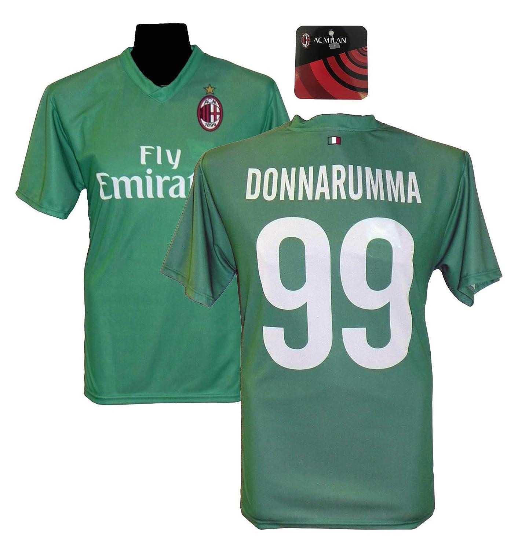 AC Milan Maglia Replica Ufficiale DONNARUMMA Milan 2017//2018 Prodotto Ufficiale