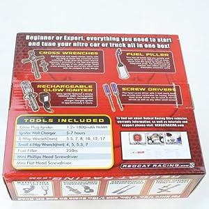 Redcat Racing 80142A Nitro R/C Starter Kit