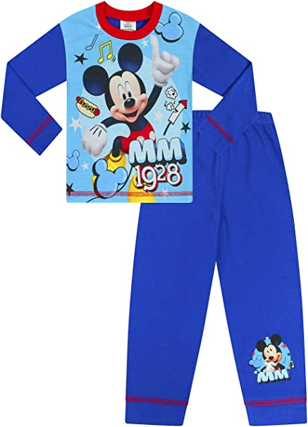 Lindo pijama de Mickey Mouse 1928 para niños de 1 a 5 años: Amazon.es: Ropa y accesorios