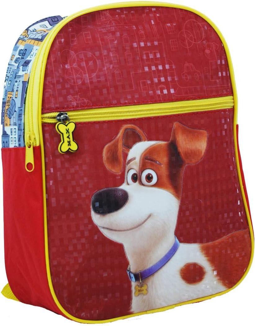 Backpack Kids SL of Pets Nursery 29CM with Front Zipper Pocket D.217 Secret Life of Pets
