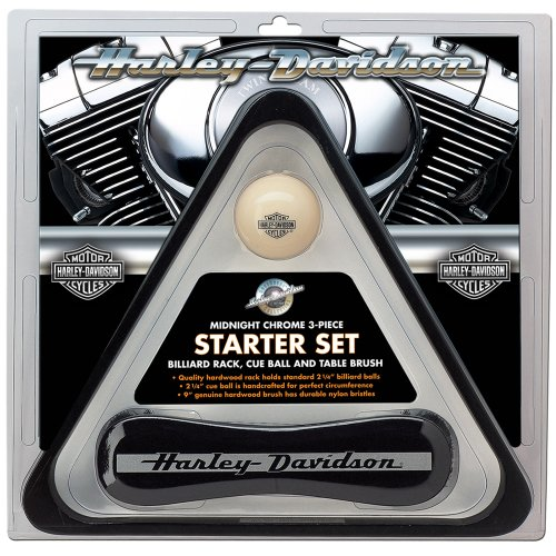 Harley-Davidson Midnight Chrome Billiard Starter (Harley Davidson Racks)