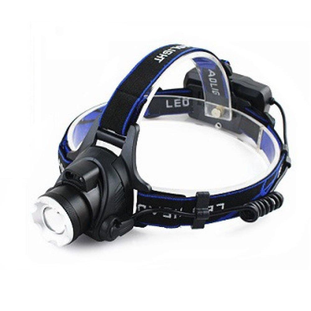 ERHANG Stirnlampen LED Hauptscheinwerfer Hauptscheinwerfer Taschenlampe Blendung Wiederaufladbar Long Range Induktion Rot Wasserdicht Headset