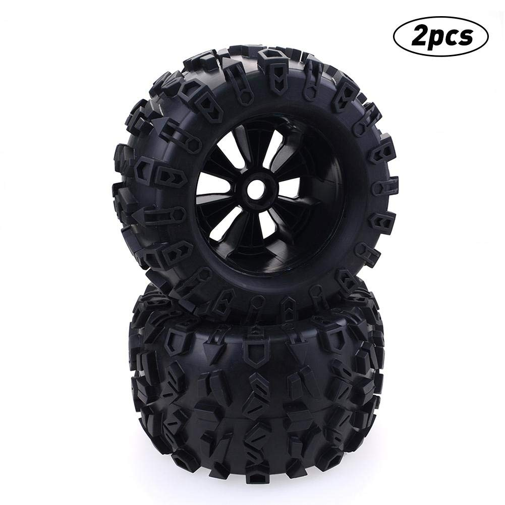 Macddy 17mm Hex Wheel 170mm Tires for RC 1/8 Monster Truck HPI Savage Flux HSP