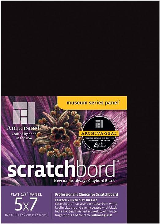 Ampersand Scratchboard 3 Per Package BHBU0503A1412 5 X 7