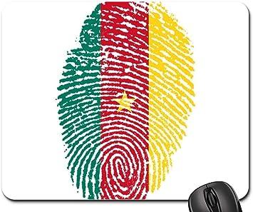 Alfombrilla de ratón - Bandera de Camerún Huella Digital Identidad ...