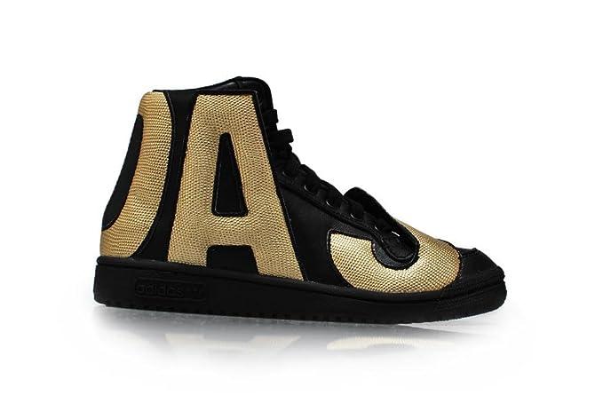 c566f7d668ba Adidas Men s - Jeremy Scott JS Letters Gold  RARE  - Black Gold ...