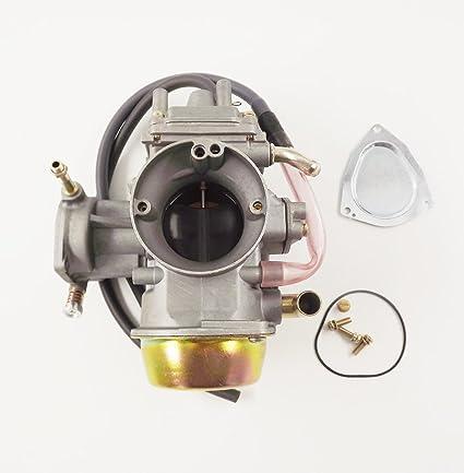 amazon com: new carburetor carb for yamaha grizzly 600 660 yfm600 yfm660  atv carburetor: automotive