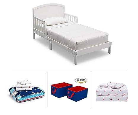 Amazon.com: Delta Children Toddler Bedroom Set, Boys 4-Piece ...