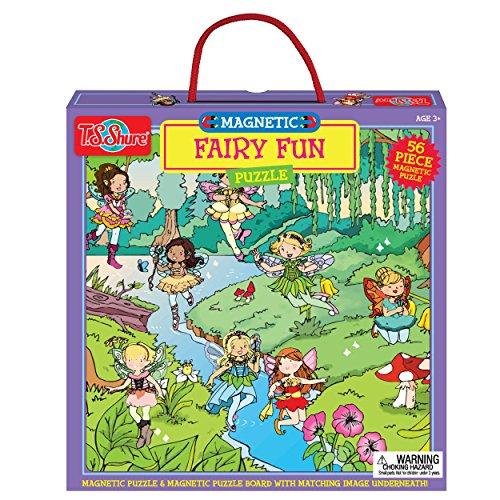 T.S. Shure Fairy Fun Magnetic Puzzle (56 Piece)