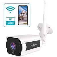 Cacagoo 4MP 1536P WiFi Outdoor Security Camera