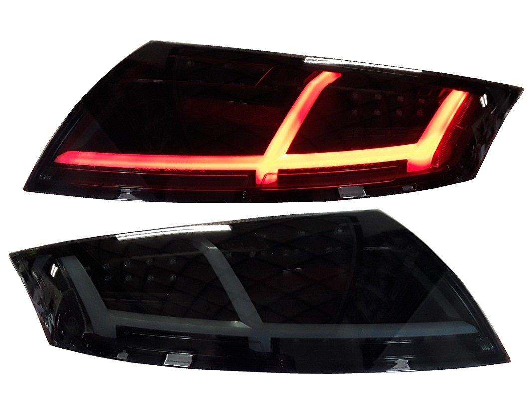 Voll LED Heckleuchten LED R/ückleuchten schwarz Rauchglas RA21LBS links rechts