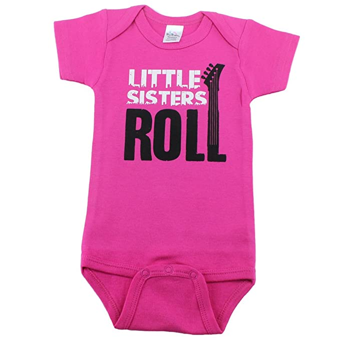 277671915816b Nursery Decals and More Bodysuits for Baby Girls, I'm The Little Sister  with Owl, Little Sisters Roll