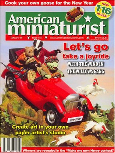 Best Price for American Miniaturist Magazine Subscription