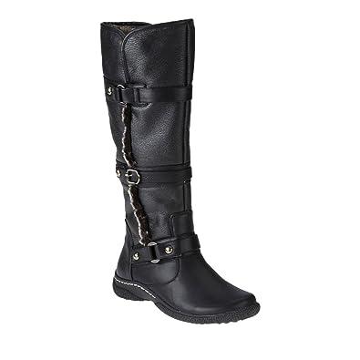 Wanderlust Gabrielle Knee High Winter Wide Calf Boot (Women's) n5R5r95