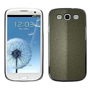 PC/Aluminum Funda Carcasa protectora para Samsung Galaxy S3 I9300 Simple Pattern 26 / JUSTGO PHONE PROTECTOR