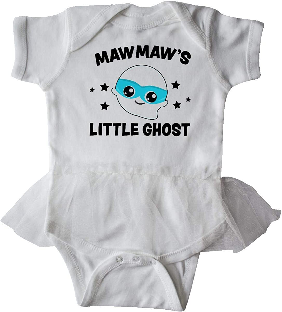 inktastic Cute Mawmaws Little Ghost with Stars Infant Tutu Bodysuit