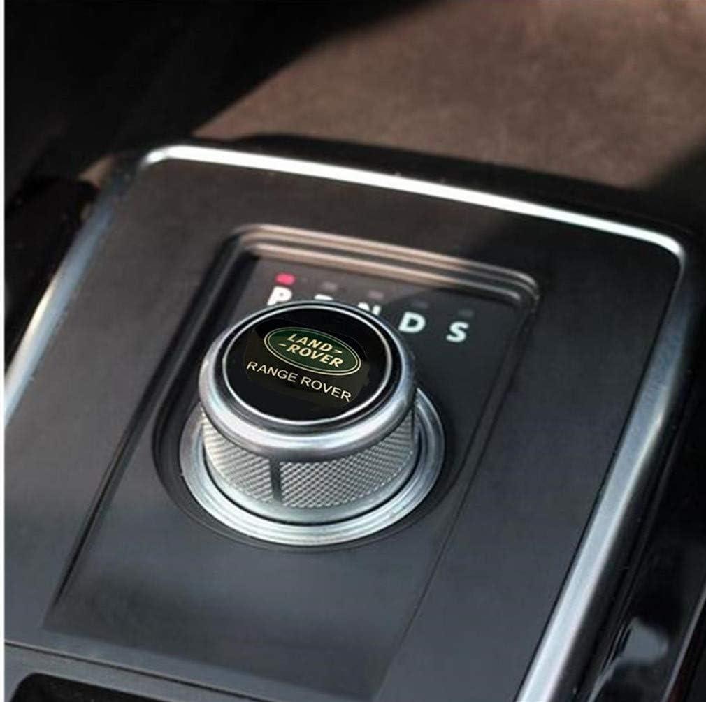 Black Multimedia Control Badge Alloy Sticker for Range rover Veler Discovery Sport Range Rover
