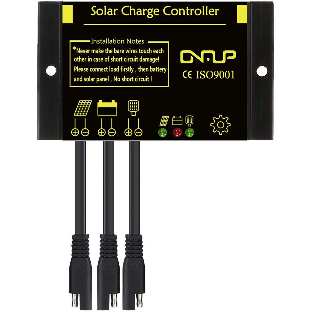 SUNER POWER Waterproof Solar Charge Controller - Intelligent12V/24V Solar Panel Battery Regulator by SUNER POWER (Image #1)
