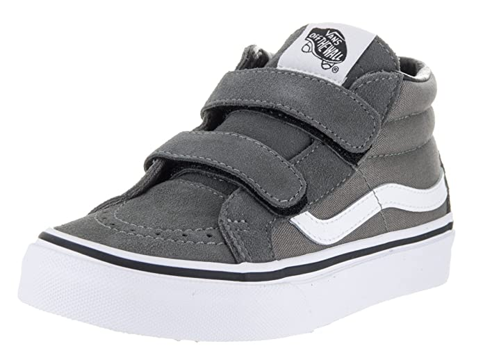 VANS Kinderschuhe SK8-MID Reissue V canvas suede Grau (Canvas & Suede) Charcoal