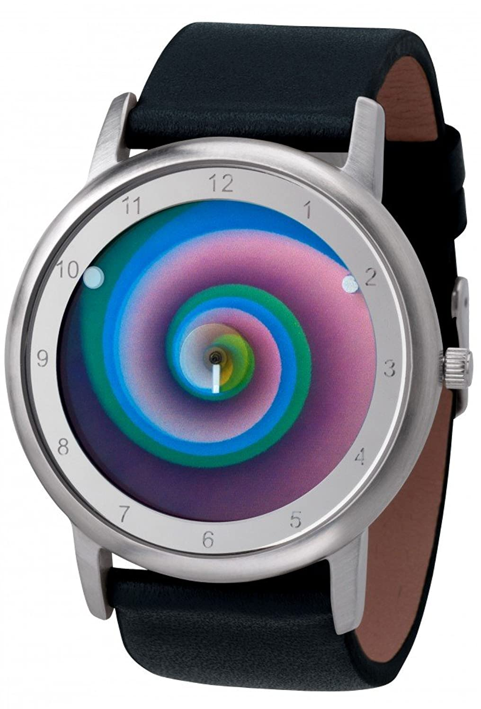 Avantgardia vertigo - (NEUES DESIGN) – Rainbow e-motion of color Unisex Armbanduhr EdelstahlgehÄuse
