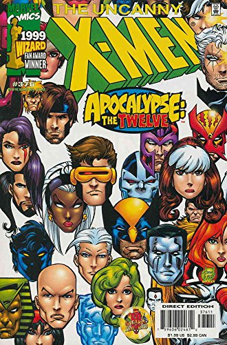 - Uncanny X-Men, The #376 VF/NM ; Marvel comic book
