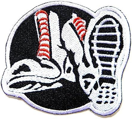 Pantalones Skinhead Music Band logotipo de marca Sew extragrande ...