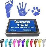 REIGNDROP Ink Pad For Baby Footprint, Handprint, Create Impressive Keepsake Stamp,