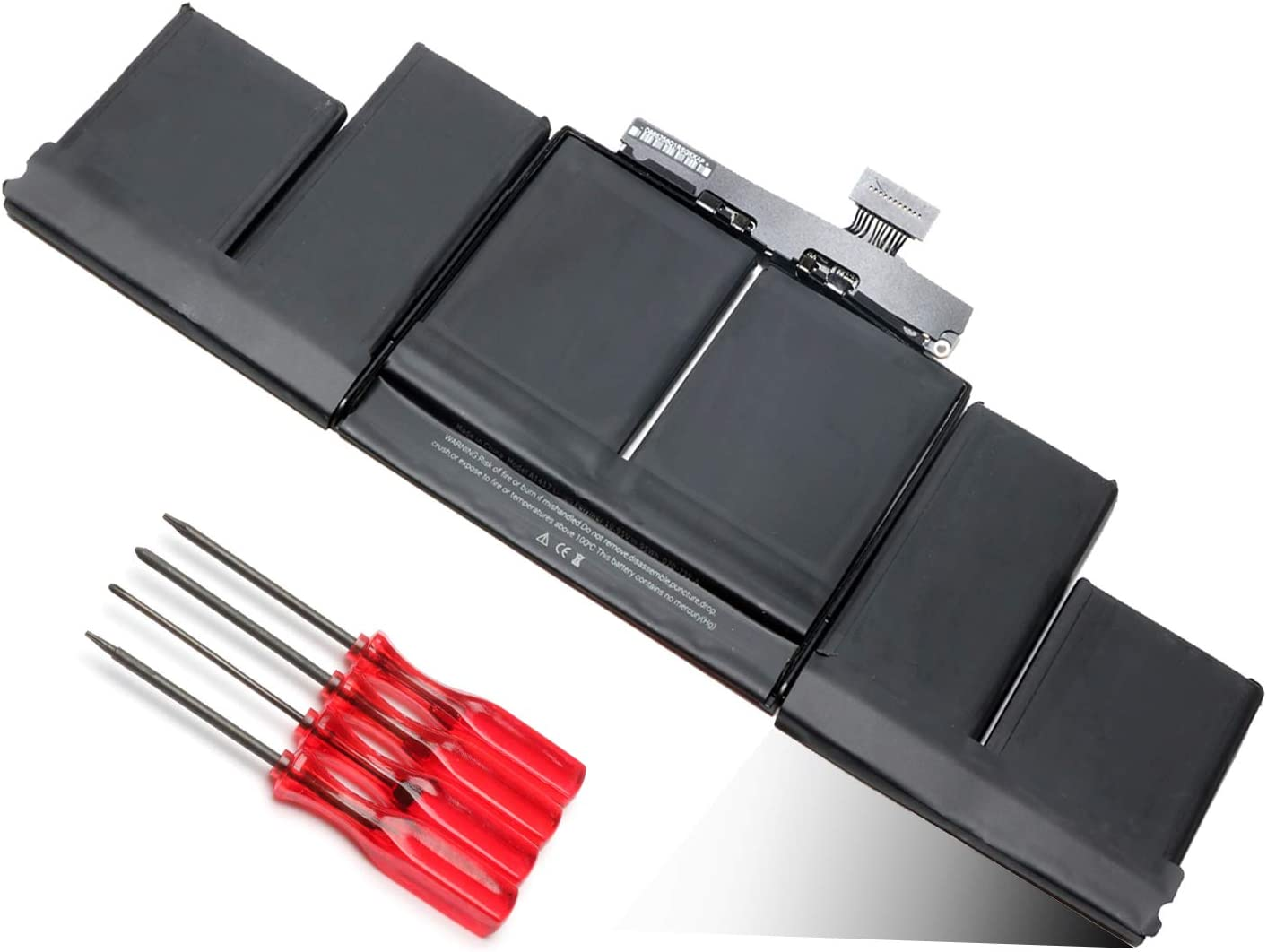 A1417 Laptop Battery Replacement for A1398 MacBook Pro 15 Inch Retina (2012 Early 2013 Version) MC975 MC976 ME664 ME665 MD831 MC975LL/A MC976LL/A ME665LL/A ME664LL/A MD831LL/A 020-7469-A